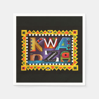 Feeling Kwanzaa Kwanzaa Party Paper Napkins