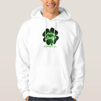 Feeling Lucky? Try asking me out Hoodie
