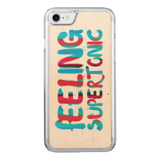 Feeling supertonic music theory geek pun carved iPhone 8/7 case