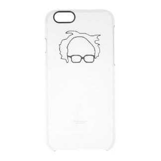 FeelTheBern2016 Clear iPhone 6/6S Case