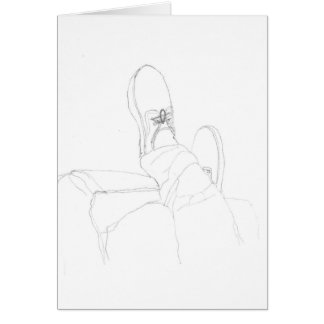 feet card