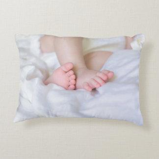 feet OF A baby Decorative Cushion