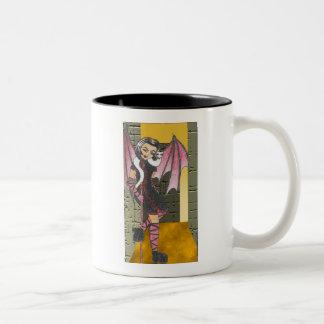 FeiSuNi Anime Art Gallery Character Two-Tone Coffee Mug