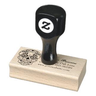 Feliz Muertos Personalized Return Address Stamp
