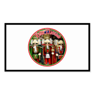 Feliz Navidad - Three Wise Crackers Business Card Templates