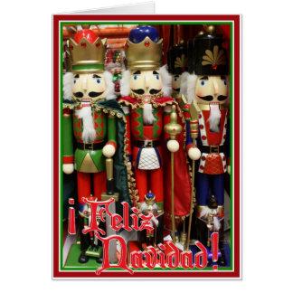 Feliz Navidad - Three Wise Crackers Greeting Card