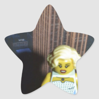 fem fatal star sticker