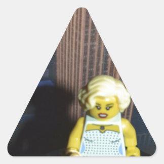 fem fatal triangle sticker