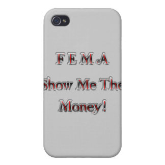 FEMA Show Me The Money! chrome red iPhone 4/4S Case