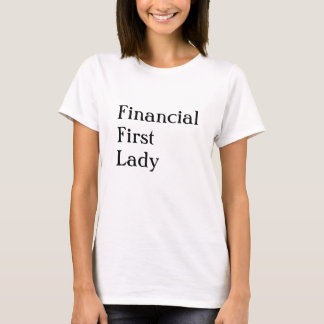 Female Accountant CFO or FD Funny Nick Name T-Shirt