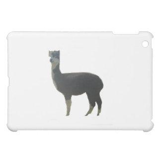 Female alpaca iPad mini cover