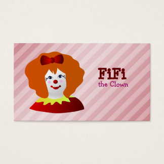 224 clown entertainer business cards and clown entertainer business female clown business cards colourmoves