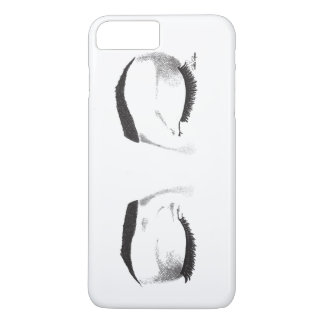 Female Eyes Sketch (Customizable) iPhone 8 Plus/7 Plus Case