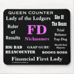 Female FD Nicknames Funny Financial Director Names