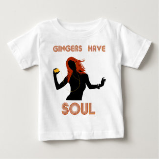 Female Gingers have Soul Baby T-Shirt