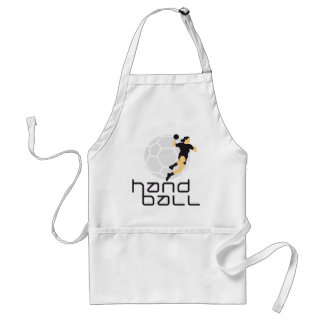 female hand ball standard apron