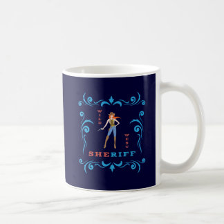 Female Sheriff Mug