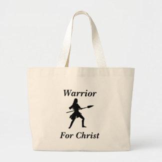 Female Warrior For Christ Tote