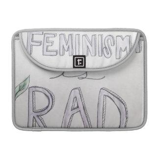 "Feminism Is Rad Macbook Pro 13"" Sleeve MacBook Pro Sleeve"