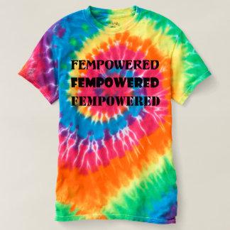 Fempowered Tie-Dye T-Shirt