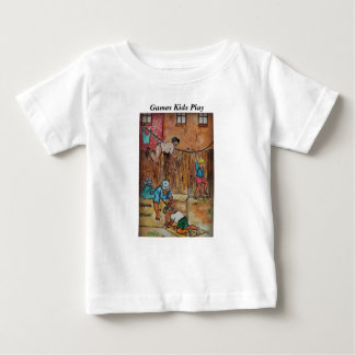 Fences, Cardboard Boxes  Clothesline & Imagination Baby T-Shirt