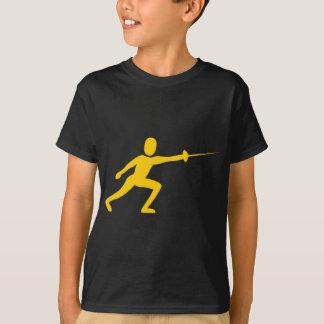 Fencing Figure - Amber T-Shirt