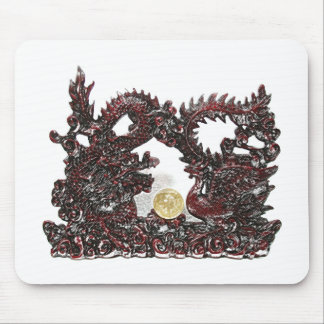 Feng Shui Dragon & Phoenix Mouse Pad