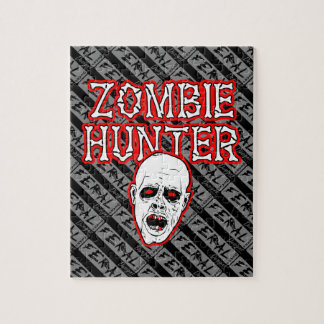 Feral Gear Designs - Zombie Hunter Jigsaw Puzzle