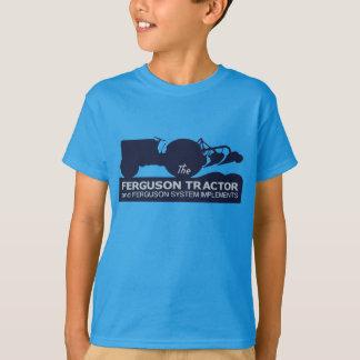 Ferguson Tractor Vintage Hiking Duck kids T-Shirt