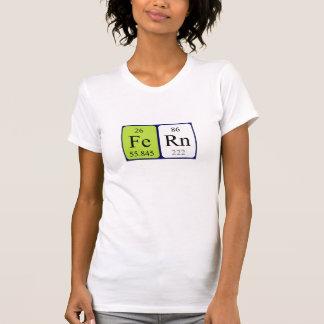 Fern periodic table name shirt