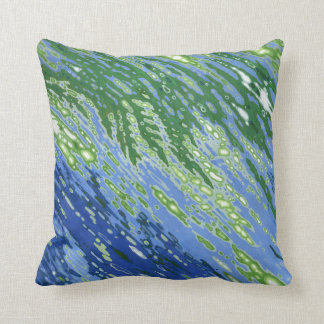 Ferns Caught in Tide Pillow by Margaret Juul