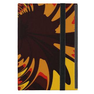 Ferocious, Abstract Amber and Orange Creature iPad Mini Cover