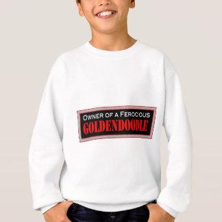 ferocious goldendoodle sweatshirt