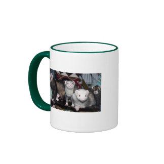 Ferret Treats Ringer Mug