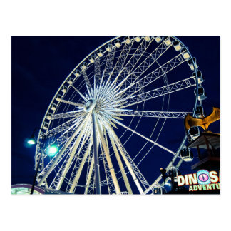 Ferris Wheel at Niagara Falls Postcard