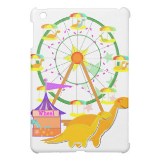 Ferris Wheel Dinosaurs iPad case