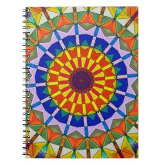 Ferriswheel Kaleidoscope Notebook