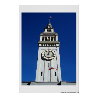 Ferry Building San Francisco Poster