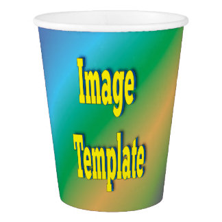 Festival Party Reunion Create Your Own Paper Cup