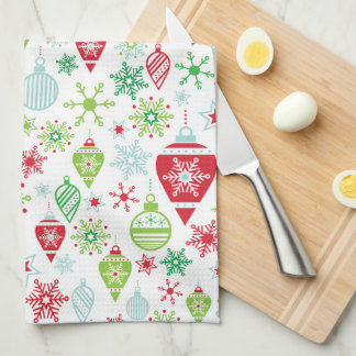 Festive Ornament Kitchen Towel