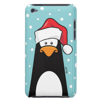Festive Penguin in the Snow Barely There iPod Cover
