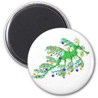 Festive Sea Dragon Magnet