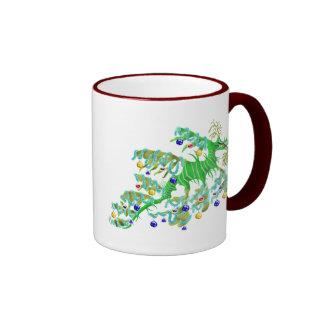 Festive Sea Dragon Mug