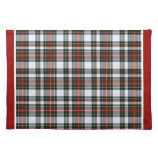 Festive Stewart Dress Tartan Plaid Place Mat
