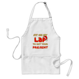 FGD - Sit on my lap to get your present Standard Apron