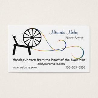 Fiber Art Business Card or Hang Tag