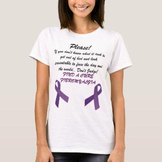 Fibromyalgia Find A Cure! T-Shirt