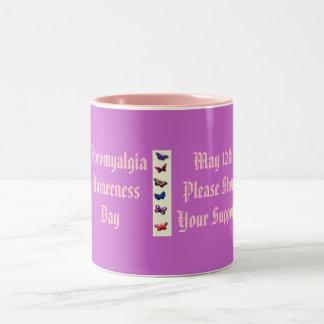 FibromyalgiaAwarenessDay, May 12th... Two-Tone Coffee Mug