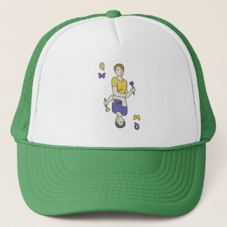 Fictional Playing Card Queen Trucker Hat
