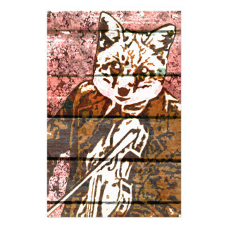 Fiddle Fox Country Stationery